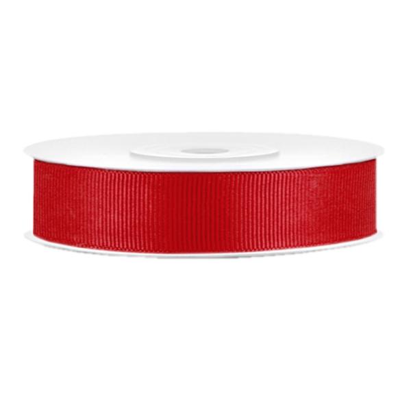 510 6 Ripsband Rot Basteln Dekorieren partydeco Partydeco.pl Ripsband rot B:15mm / L: 25m