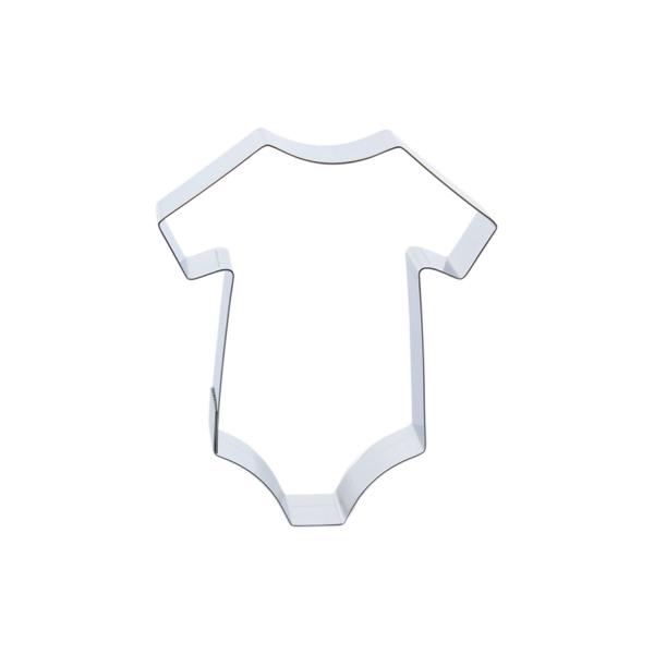 669 33 Baby Kleidung Keks Ausstecher Cuttersweet Cuttersweet 1 Keksausstecher Baby Body