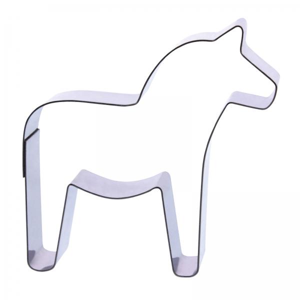 669 354 Dala Pferd Schweden Pferd Ausstecher Der-Ideen-Shop Cuttersweet 1 Keksausstecher Dala Pferd
