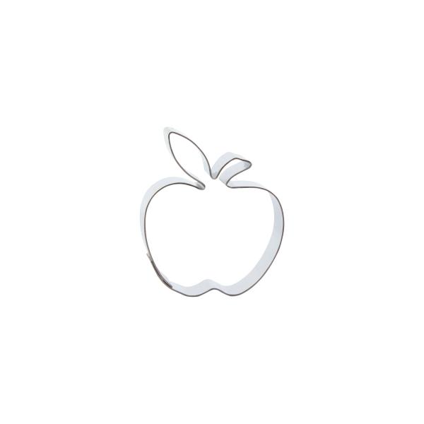 669 376 A Keksausstecher Kleiner Apfel Edelstahl Der-Ideen-Shop Keksausstecher 1 Keks - Ausstecher Apfel, klein