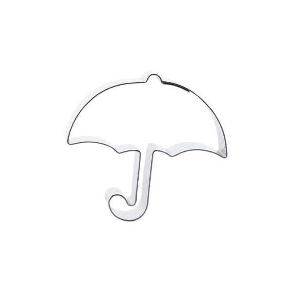 669 393 A Ausstecher Regenschirm Edelstahl Cuttersweet Keksausstecher 1 Keks Ausstecher Regenschirm, klein