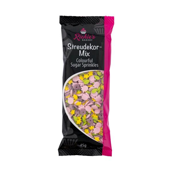 73007richiesbakerysprinklesflowerpower Richie´s Bakery Frühling / Sommer Richie´s Bakery Sprinkles Power 45 g