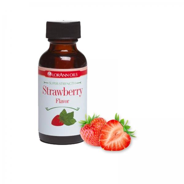 977 7 Lorann Erdbeere Aroma Lebensmittelaroma LorAnn Oils Frühling / Sommer Lebensmittel Aroma Erdbeere 4 oz. 118,3ml