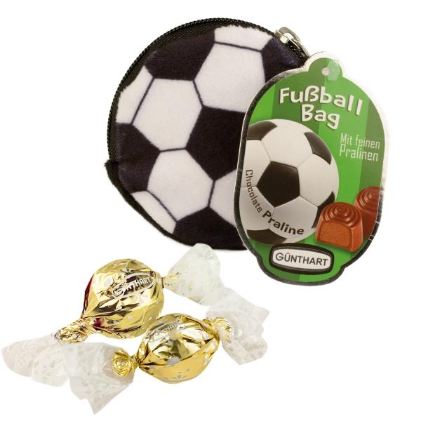 Fussball Tasche Geld Schluessel EM 2016 5880 Günthart Backwelt Fußball Günthart Fußballtäschen mit Pralinen