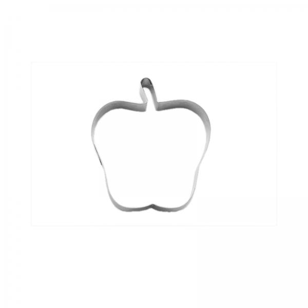 Keks Ausstecher Apfel Edelstahl 669 280 Cuttersweet Keksausstecher 1 Keks - Ausstecher Apfel