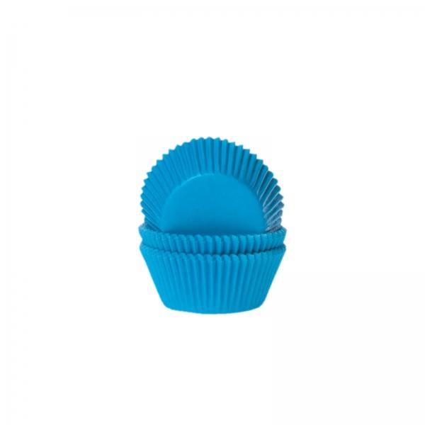 Mini Muffinfoermchen Blau Papier 592 10 House of Marie Frühling / Sommer Mini Muffinförmchen, blau