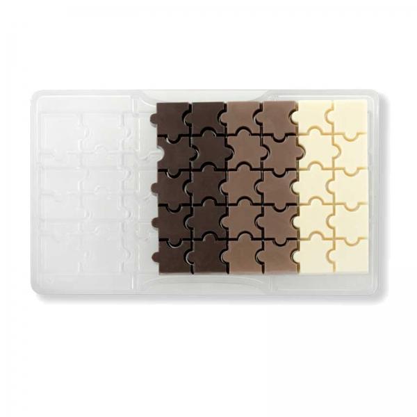 Schokoladen Giessform Puzzle 135 14 Decora Decora Schokoladenform Puzzle