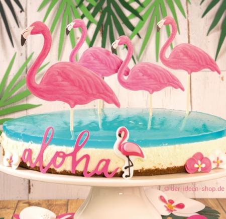 Käse Sahne Torte Aloha - Flamingo