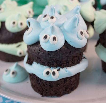 Marshmallow-Drop Schoko-Muffins
