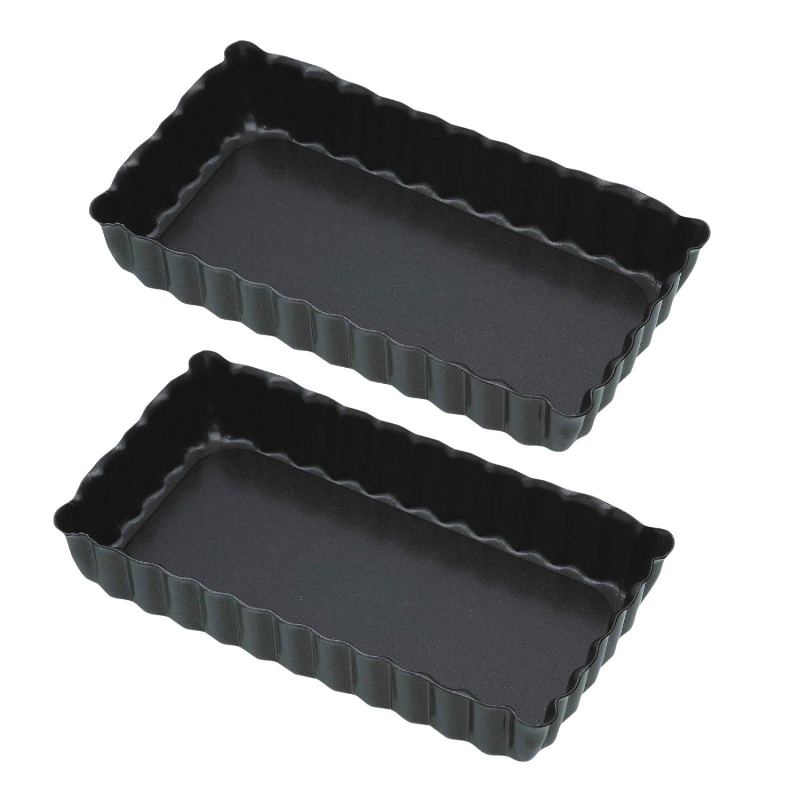 2 kleine rechteckige Tarte