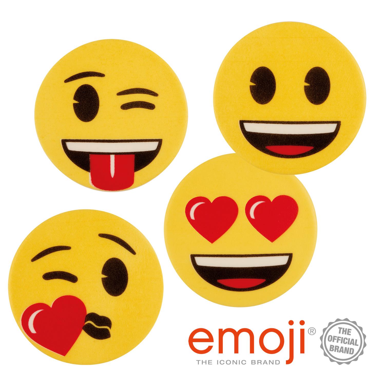 Dekorschilder Emoji Sortiert