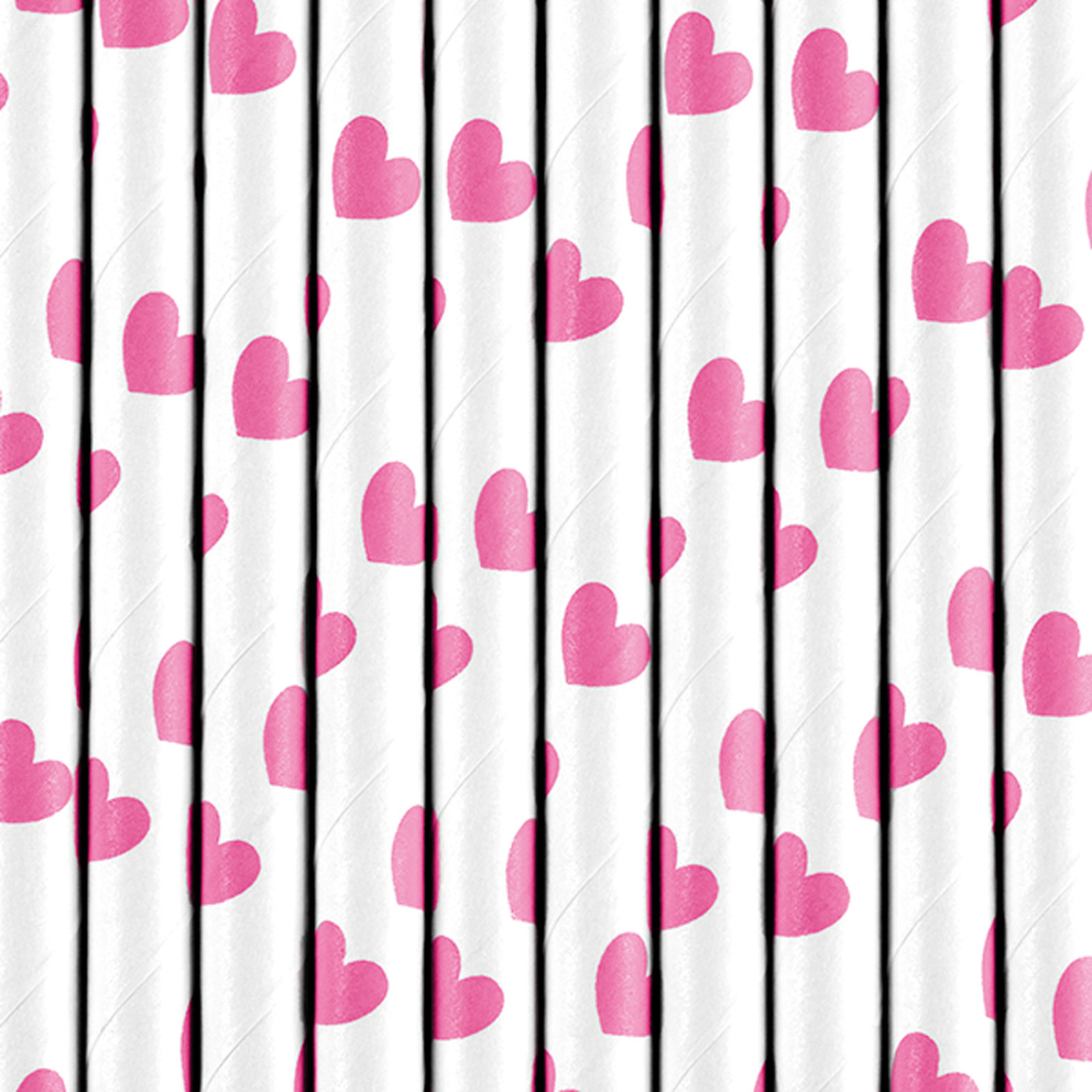 10 papier strohhalme rosa herzen der ideen. Black Bedroom Furniture Sets. Home Design Ideas