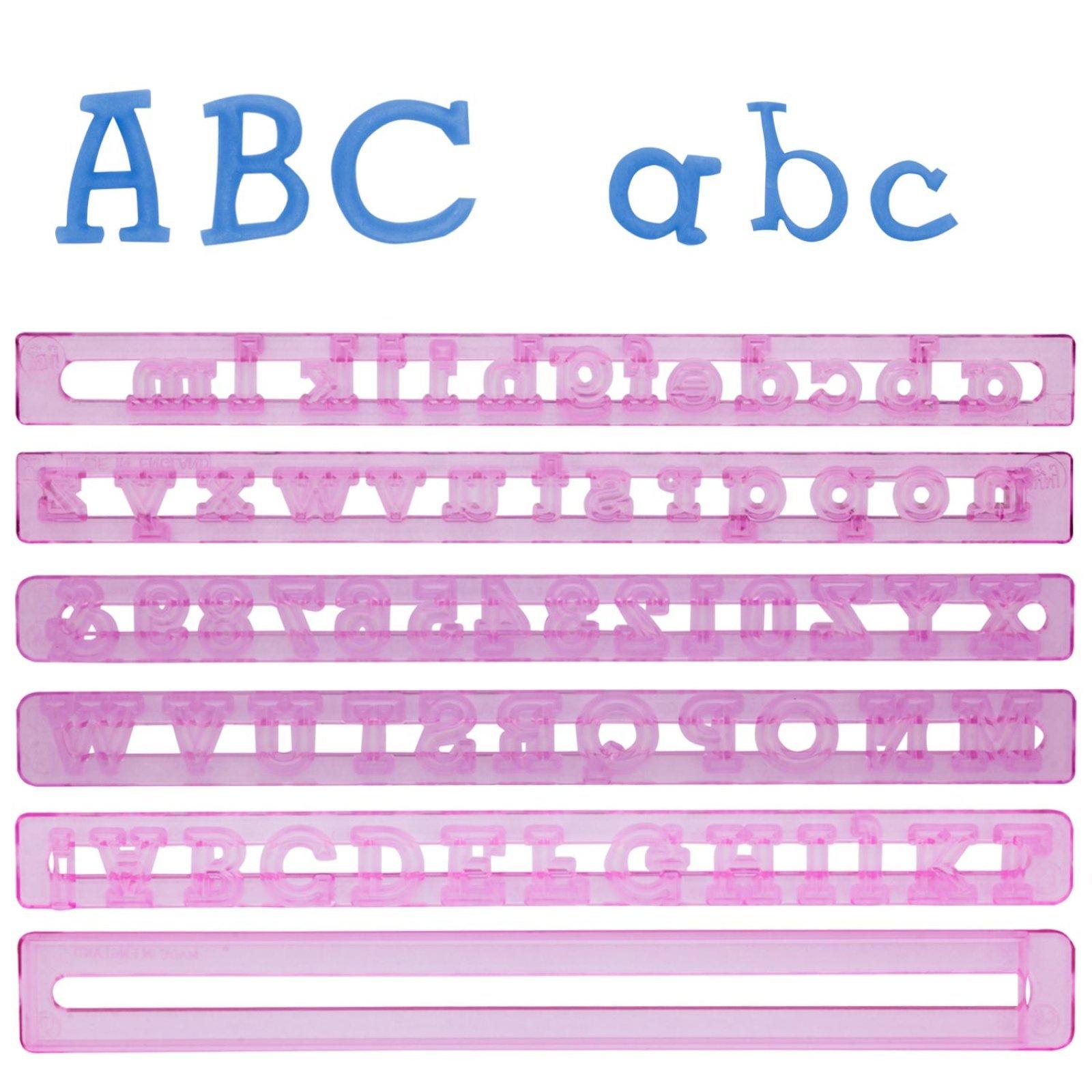 alphabet zahlen ausstecher set der ideen. Black Bedroom Furniture Sets. Home Design Ideas