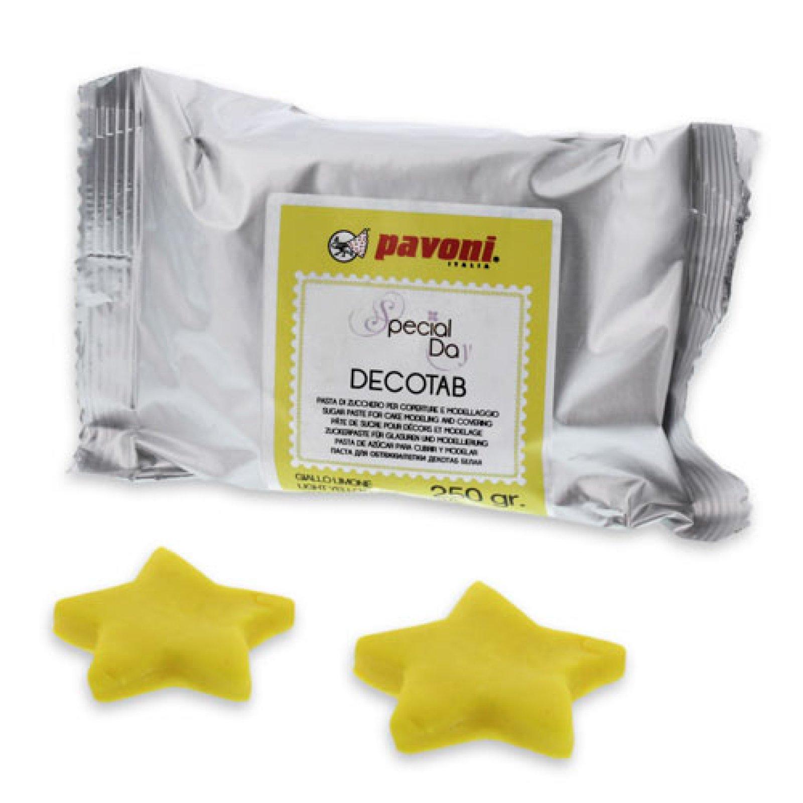 pavoni decotab fondant in gelb der ideen. Black Bedroom Furniture Sets. Home Design Ideas