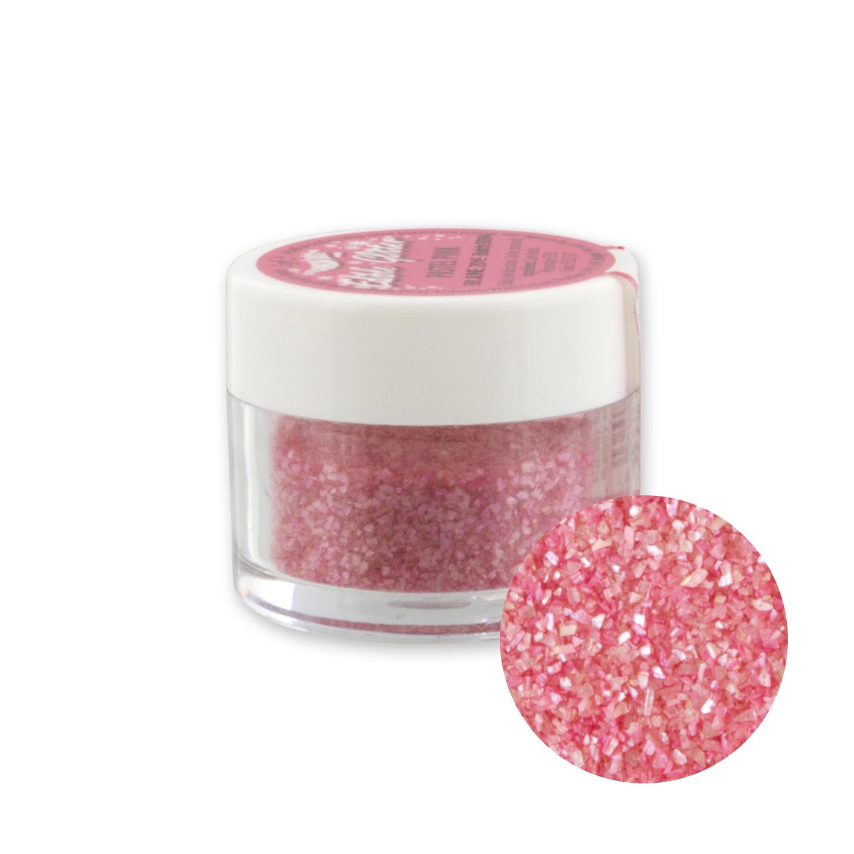 Essbarer Glitter, pastellrosa