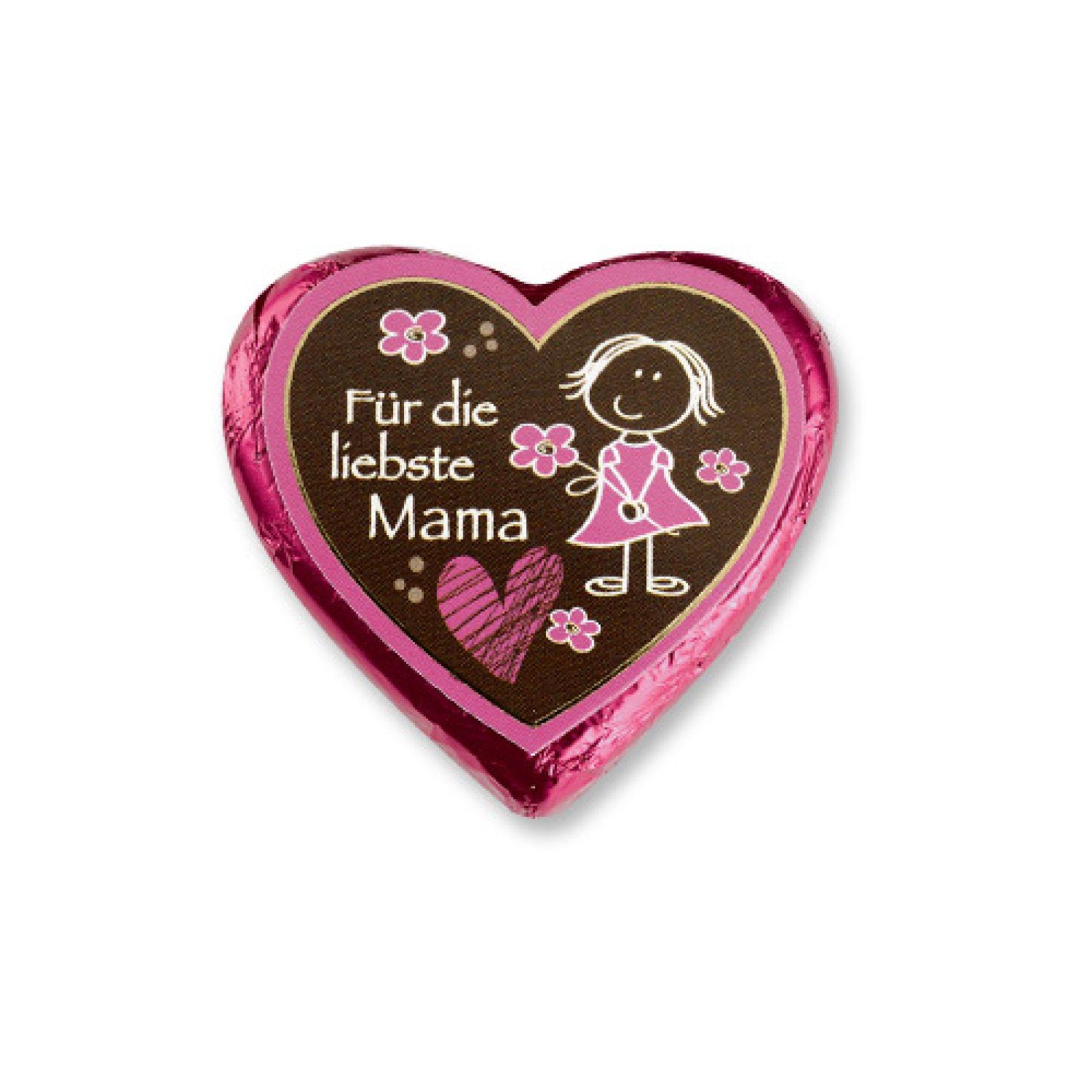 5 pralinenherzen pink f r die liebste mami der ideen. Black Bedroom Furniture Sets. Home Design Ideas