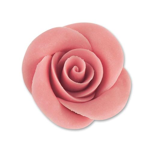 18 Marzipanrosen, mittel, rosa