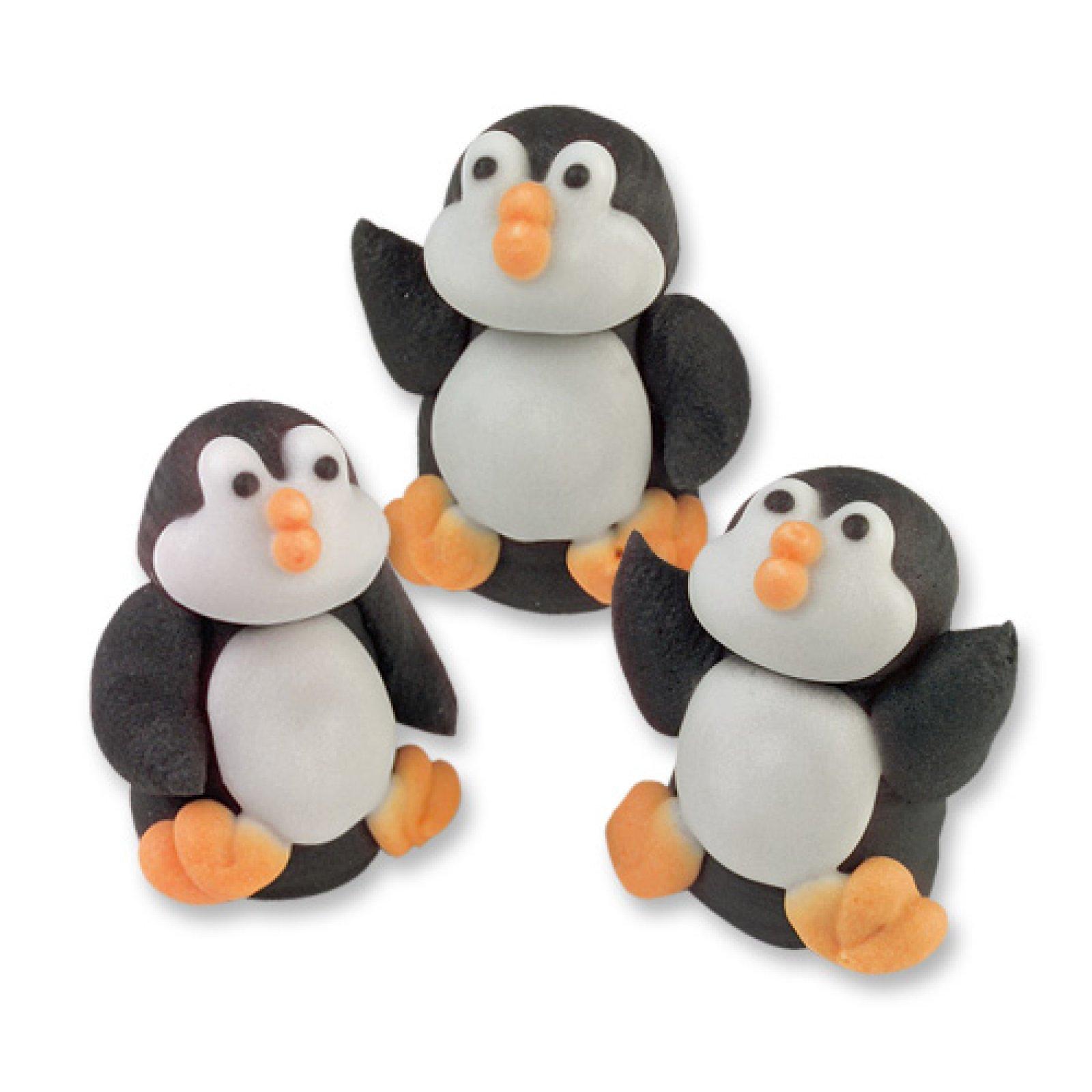 pinguin zuckerfiguren f r cupcakes der ideen. Black Bedroom Furniture Sets. Home Design Ideas