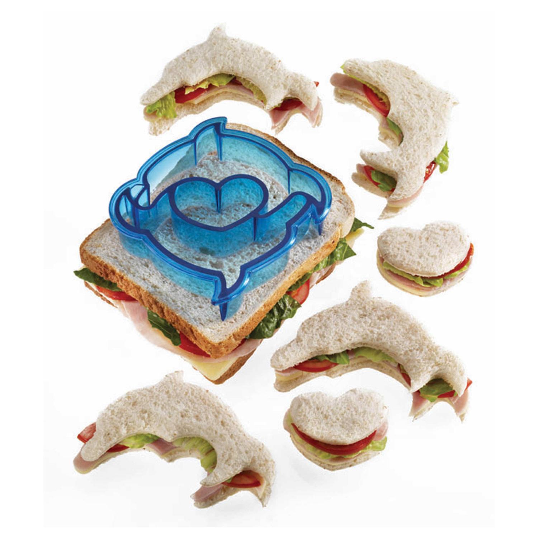 delfin sandwich schneider toastbrot ausstecher der ideen. Black Bedroom Furniture Sets. Home Design Ideas