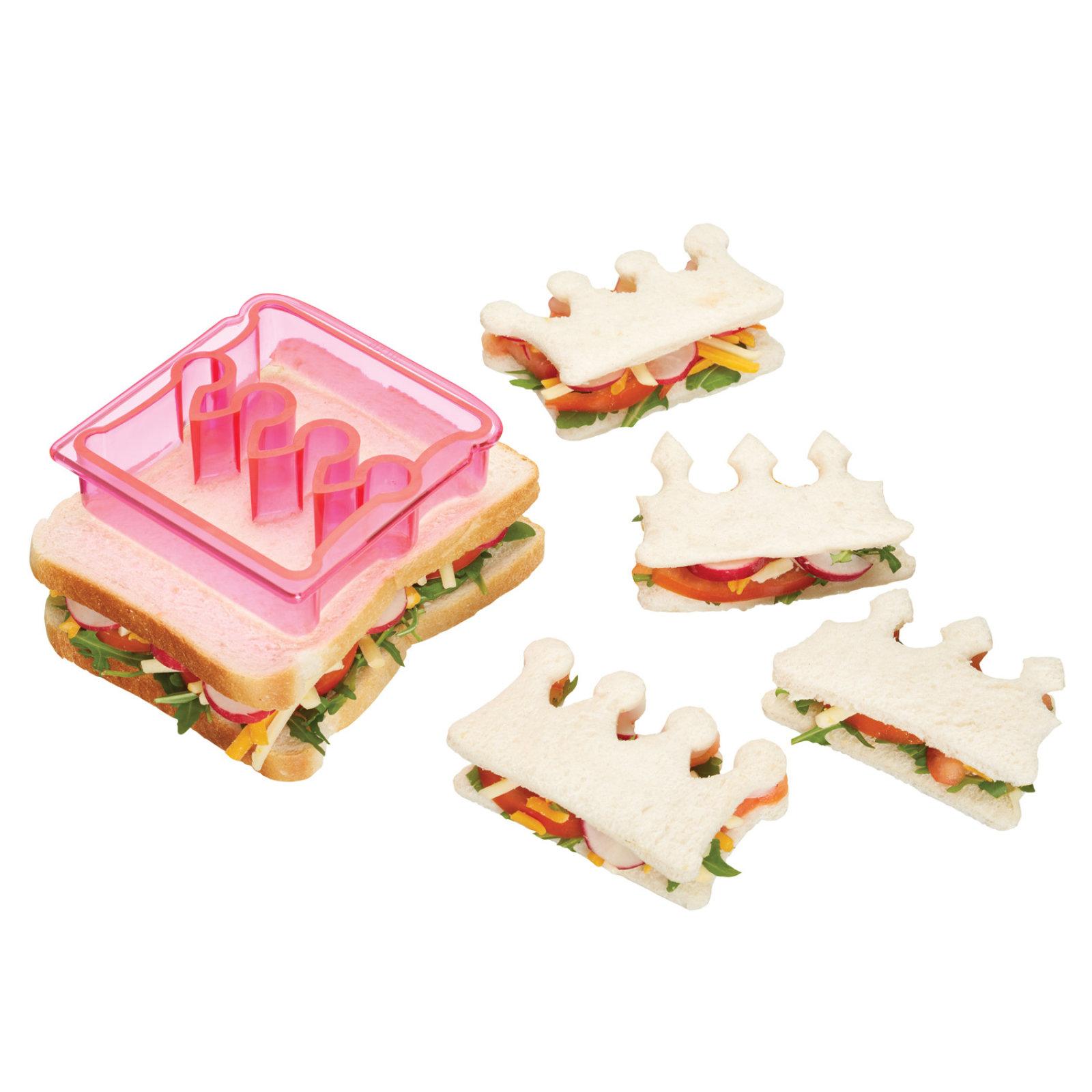 krone sandwich schneider toastbrot ausstecher der ideen. Black Bedroom Furniture Sets. Home Design Ideas