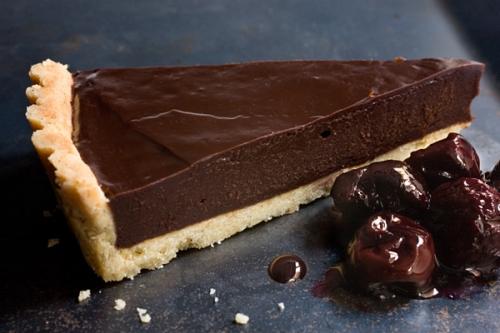 Schokolade-Ganache-Tart